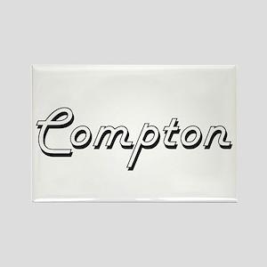 Compton surname classic design Magnets