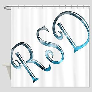 RSD Awareness Ice Shower Curtain