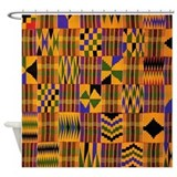 African Shower Curtains