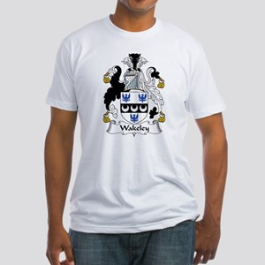 Wakeley Family Crest Fitted T-Shirt