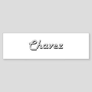 Chavez surname classic design Bumper Sticker