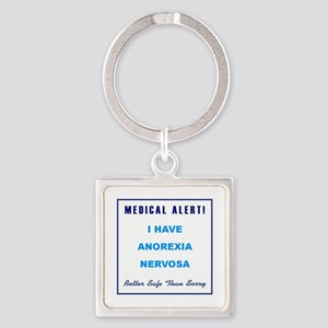 ANOREXIA NERVOSA Square Keychain