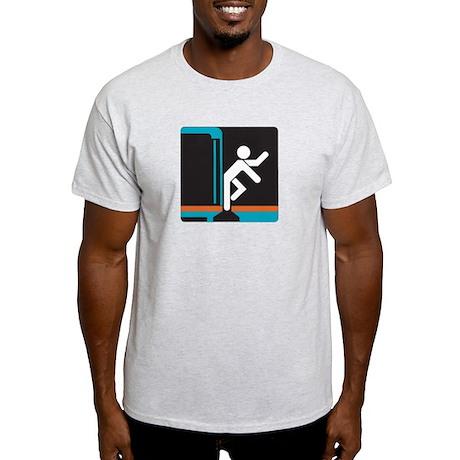 Mind the Gap, subway Madrid (ES) Light T-Shirt