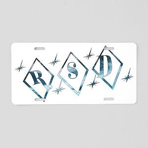 Icy RSD Awareness Diamond Aluminum License Plate