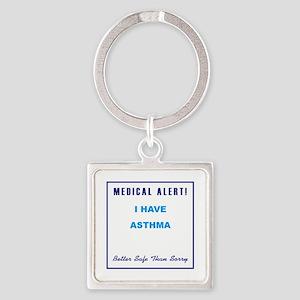 ASTHMA Square Keychain