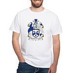 Wainwright Family Crest White T-Shirt