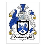 Wainwright Family Crest Small Poster