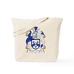 Wainwright Family Crest Tote Bag