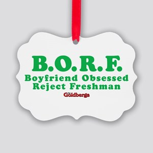 The Goldbergs BORF Ornament