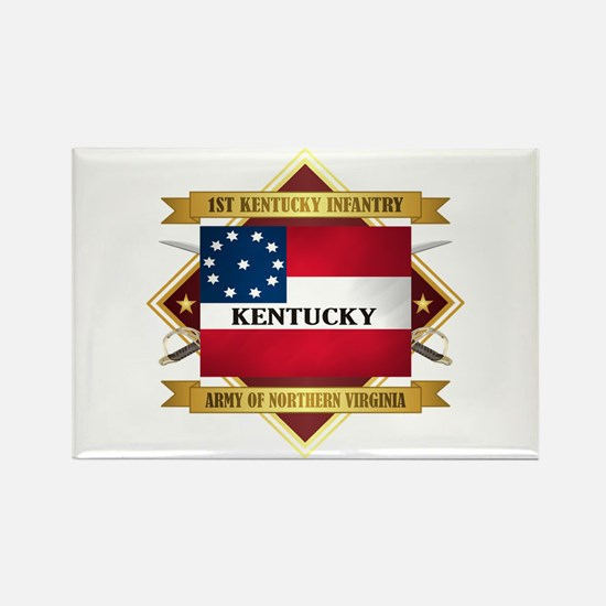 1st Kentucky Infantry Magnets