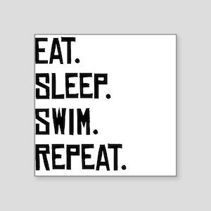 Eat Sleep Swim Repeat Sticker