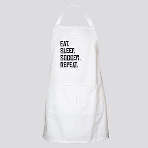 Eat Sleep Soccer Repeat Apron