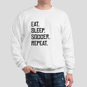 Eat Sleep Soccer Repeat Sweatshirt