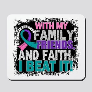 Thyroid Cancer Survivor FamilyFriendsFai Mousepad