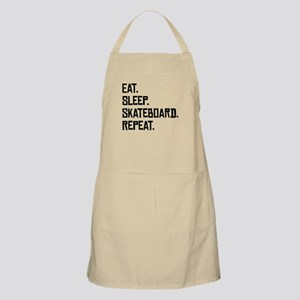 Eat Sleep Skateboard Repeat Apron