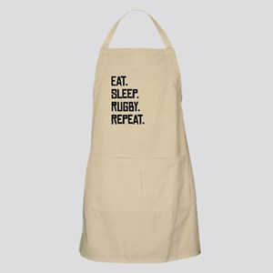 Eat Sleep Rugby Repeat Apron
