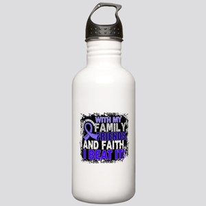Stomach Cancer Survivo Stainless Water Bottle 1.0L