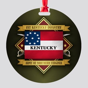 1st Kentucky Infantry Ornament