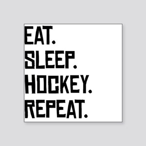 Eat Sleep Hockey Repeat Sticker