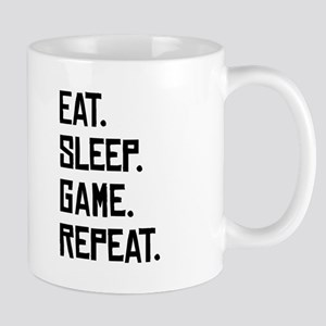 Eat Sleep Game Repeat Mugs
