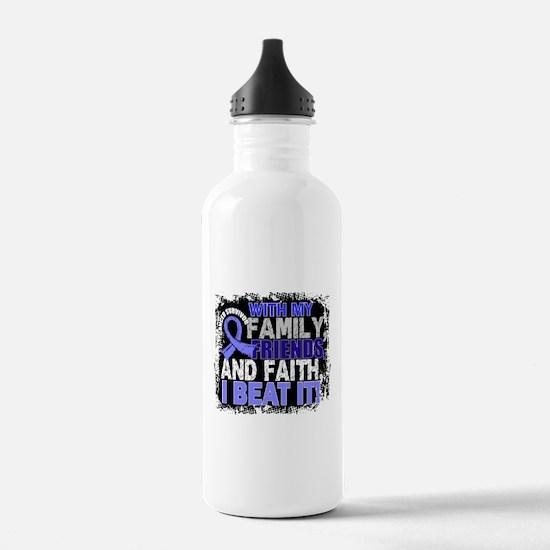 Prostate Cancer Surviv Sports Water Bottle