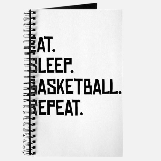 Eat Sleep Basketball Repeat Journal