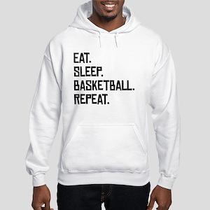 Eat Sleep Basketball Repeat Hoodie