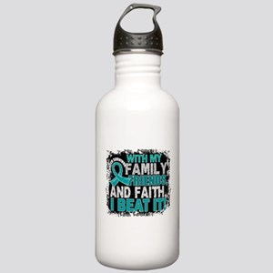 Ovarian Cancer Survivo Stainless Water Bottle 1.0L