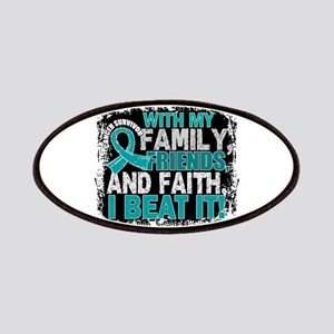 Ovarian Cancer Survivor FamilyFriendsFaith Patch