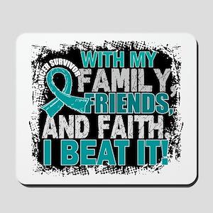 Ovarian Cancer Survivor FamilyFriendsFai Mousepad
