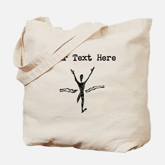 Distressed First Place Finish (Custom) Tote Bag