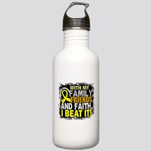 Osteosarcoma Survivor Stainless Water Bottle 1.0L