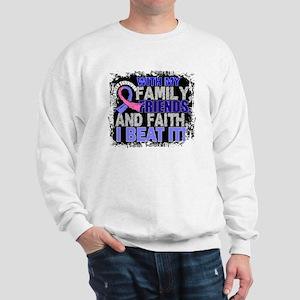 Male Breast Cancer Survivor FamilyFrien Sweatshirt