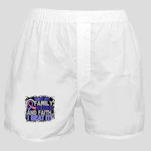 Male Breast Cancer Survivor FamilyFri Boxer Shorts