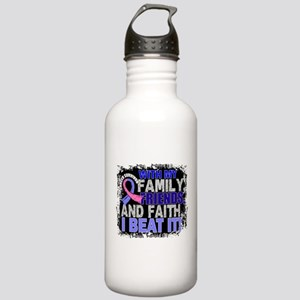 Male Breast Cancer Sur Stainless Water Bottle 1.0L