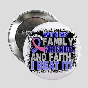 """Male Breast Cancer Survivor FamilyFri 2.25"""" Button"""