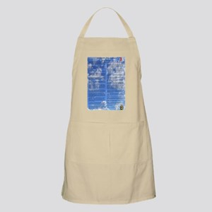 A World With CRPS - 39 x 25 Wall Peel Clouds Apron