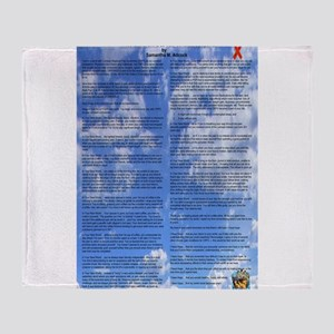 A World With CRPS - 39 x 25 Wall Pee Throw Blanket