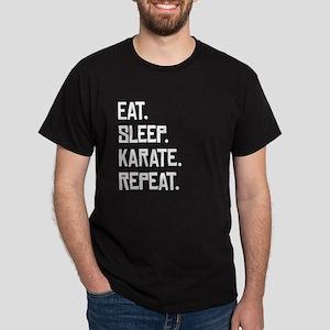 Eat Sleep Karate Repeat T-Shirt