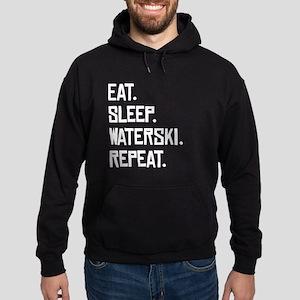 Eat Sleep Waterski Repeat Hoodie