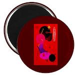 Red in Orbit Magnet