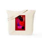 Red in Orbit Tote Bag