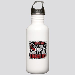 Head Neck Cancer Survi Stainless Water Bottle 1.0L