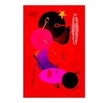 Red in Orbit Postcards (Package of 8)