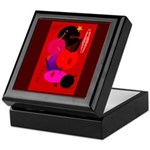 Red in Orbit Keepsake Box
