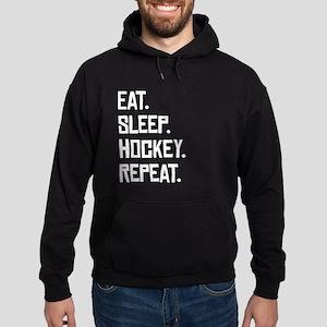 Eat Sleep Hockey Repeat Hoodie