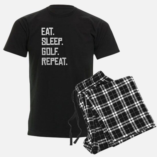 Eat Sleep Golf Repeat Pajamas