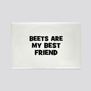 beets are my best friend Rectangle Magnet