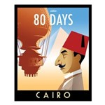 80 Days Cairo Small Poster