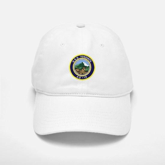 USS Yosemite (AD 19) Baseball Baseball Cap